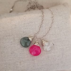 Jewelry - 3 charm necklace